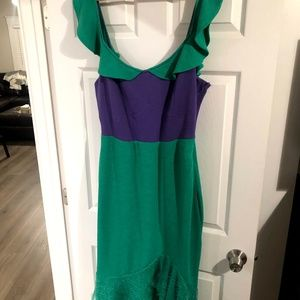 Little Mermaid Fitted Dress